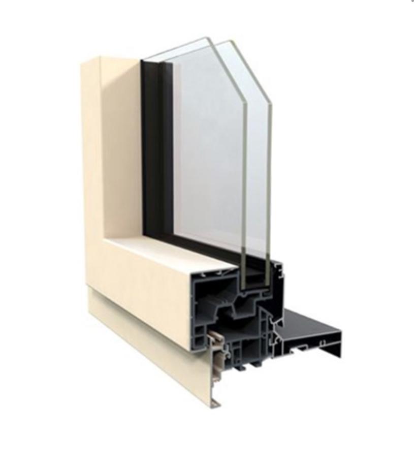 Fenêtre Mixte PVC / Aluminium exterieur